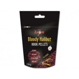 Bloody Halibut Hook Pellets - s otvorem - 150 g