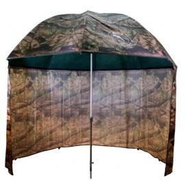 Deštník PVC s prodlouženou bočnicí 250cm/kamufláž